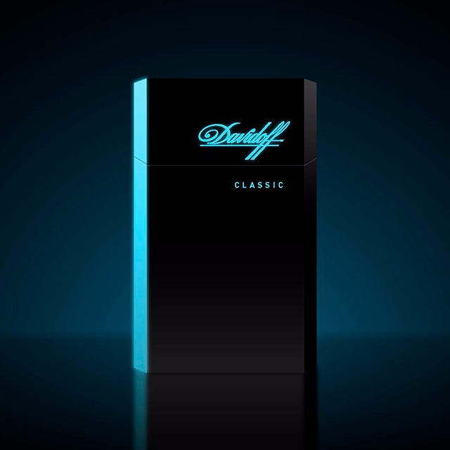 Davidoff Cigarettes Essentials Limited Edition - the Glow Concept