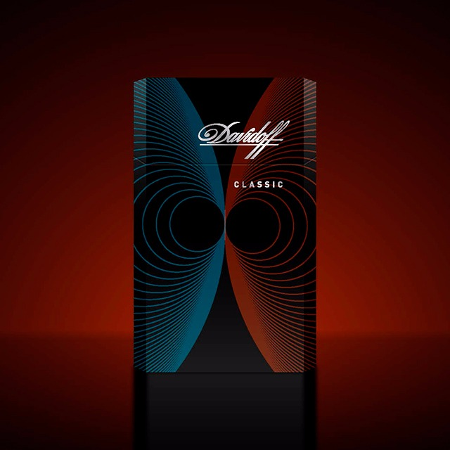 Davidoff Cigarettes Essentials Limited Edition - the Magnetism Concept
