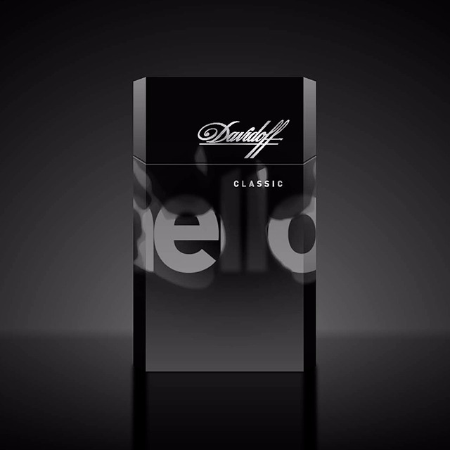 Davidoff Cigarettes Essentials Limited Edition - the Today Concept